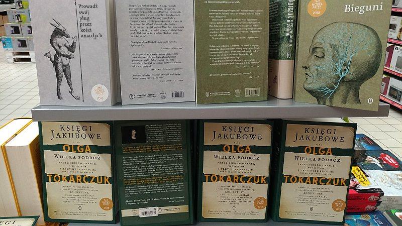 Książki Olgi Tokarczuk w markecie - https://www.CARREFOUR.pl/